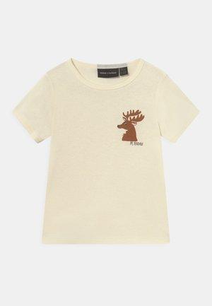 DEER TEE UNISEX - T-shirt imprimé - off white