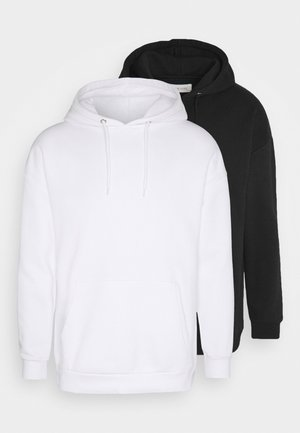 2 PACK - Sweatshirt - white/black