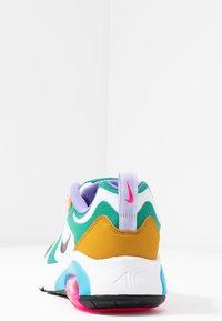Nike Sportswear - AIR MAX 200 - Sneaker low - mystic green/white/gold/light current blue/pink blast/medium violet - 5