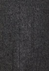 TOM TAILOR DENIM - BOUCLE COAT WITH HOOD - Classic coat - light tarmac grey melange - 2
