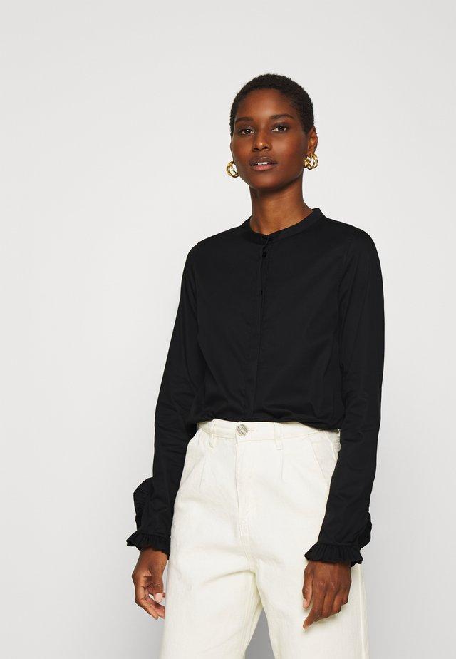 MATTIE  - Button-down blouse - black