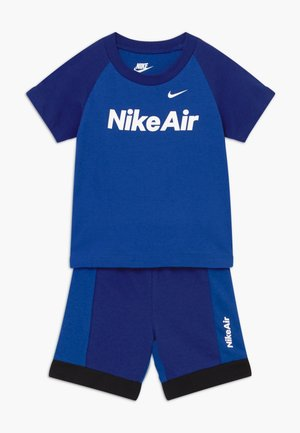 AIR FRENCH BABY SET  - Trousers - deep royal blue
