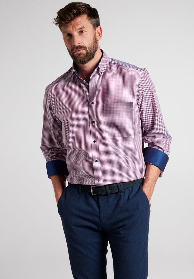 COMFORT FIT - Shirt - bordeaux