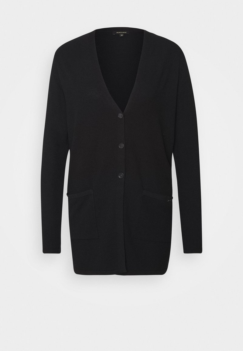 More & More - CARDIGAN - Cardigan - black