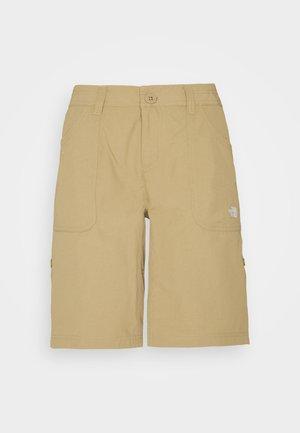 HORIZON SUNNYSIDE - Pantaloncini sportivi - kelp tan