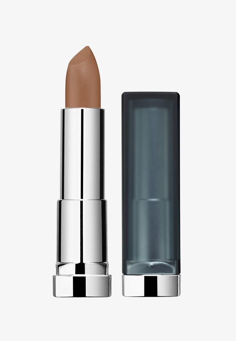 Maybelline New York - COLOR SENSATIONAL CREAMY MATTES LIPSTICK - Lipstick - 930 nude embrace