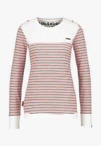 alife & kickin - LEONIE - Long sleeved top - white - 5