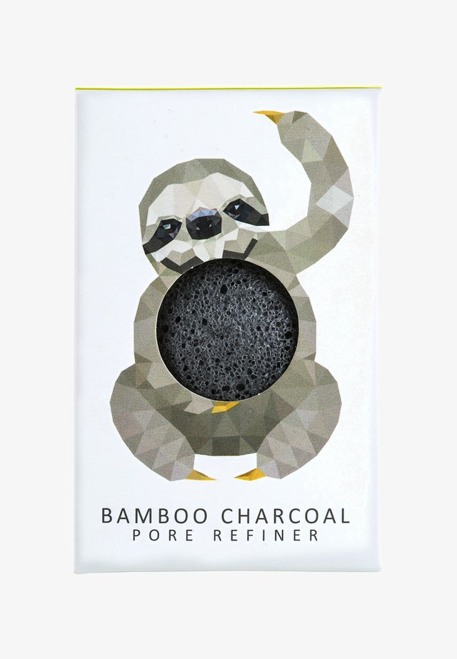 MINI SPONGE GIFT BOX - Lichaamsverzorging - bamboo charcoal/rainforest sloth