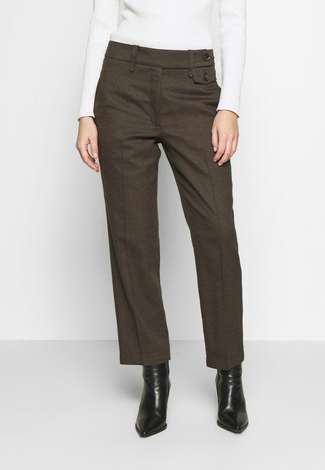 COPPOLA - Trousers - brown