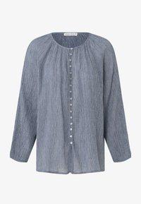 OYSHO - Button-down blouse - dark blue - 6