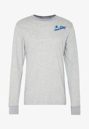DRY TEE HOOK - Long sleeved top - dark grey heather