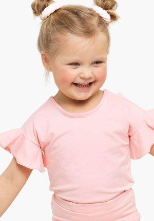 Basic T-shirt - romance pink