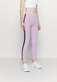 Pink Soda - CONGO TAPED - Leggings - lilac melange - 0