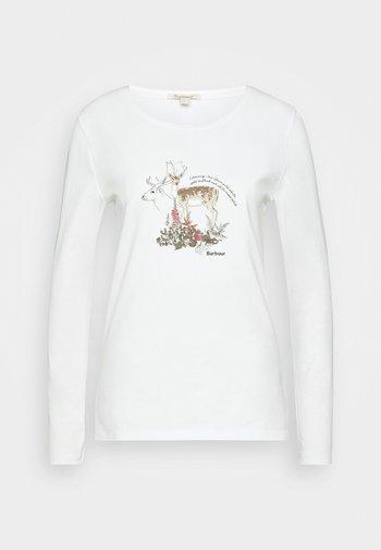 LOCKWOOD TEE - Long sleeved top - off white