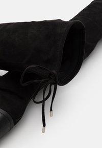 Steve Madden - GERARDINE - Over-the-knee boots - black - 5