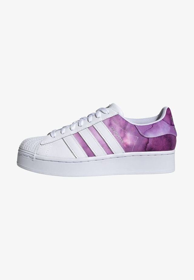SUPERSTAR BOLD SCHUH - Baskets basses - purple