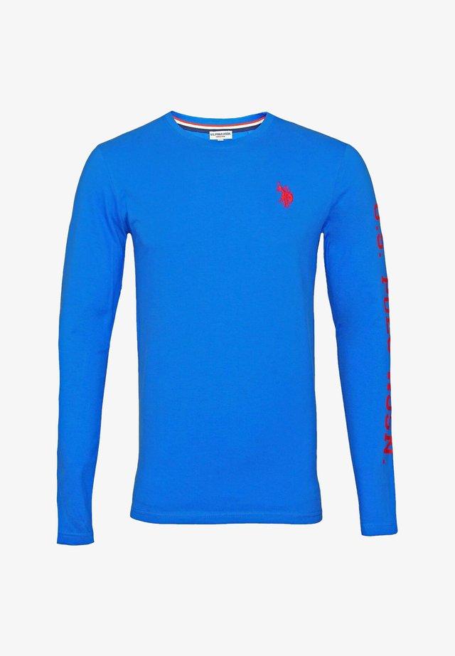T-shirt à manches longues - blau