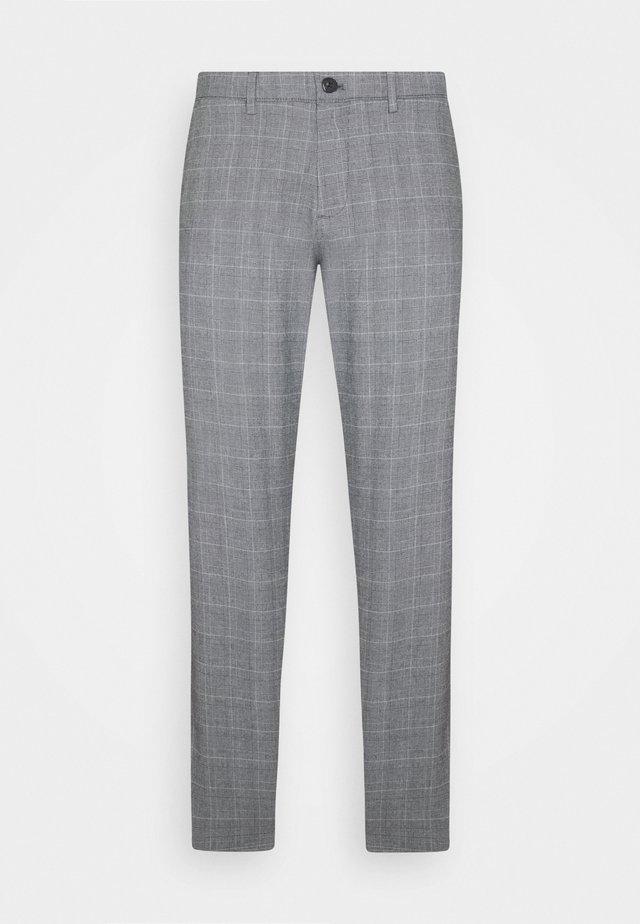 SMART FLEX TAPERED - Trousers - eubank mineral black
