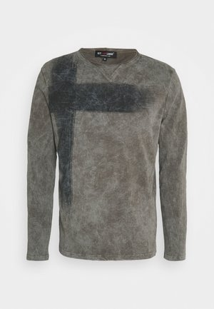 BOB ROUND - Long sleeved top - asphalt grey