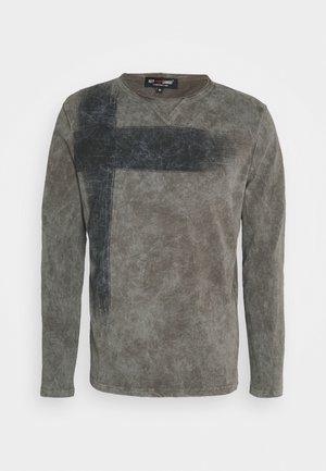BOB ROUND - Bluzka z długim rękawem - asphalt grey