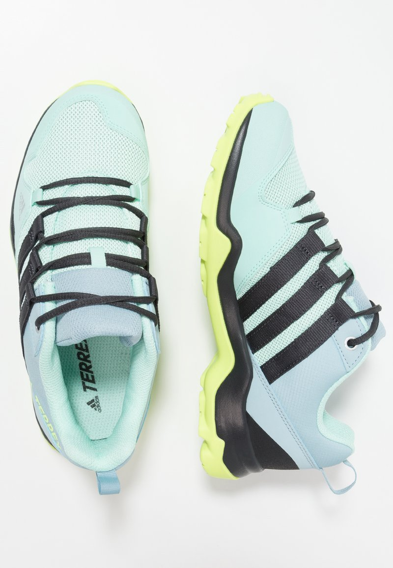 adidas Performance - TERREX AX2R - Hiking shoes - clear mint/carbon/hi-res yellow