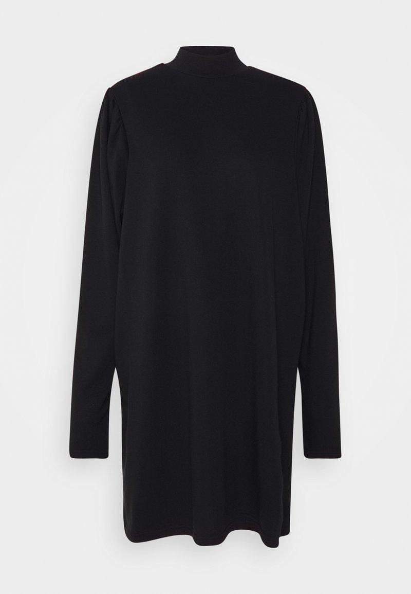 Noisy May Curve - NMCOSETTE DRESS - Day dress - black