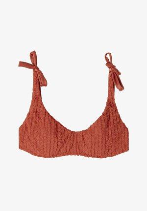 MARRAKECH - Bikini top - desert red
