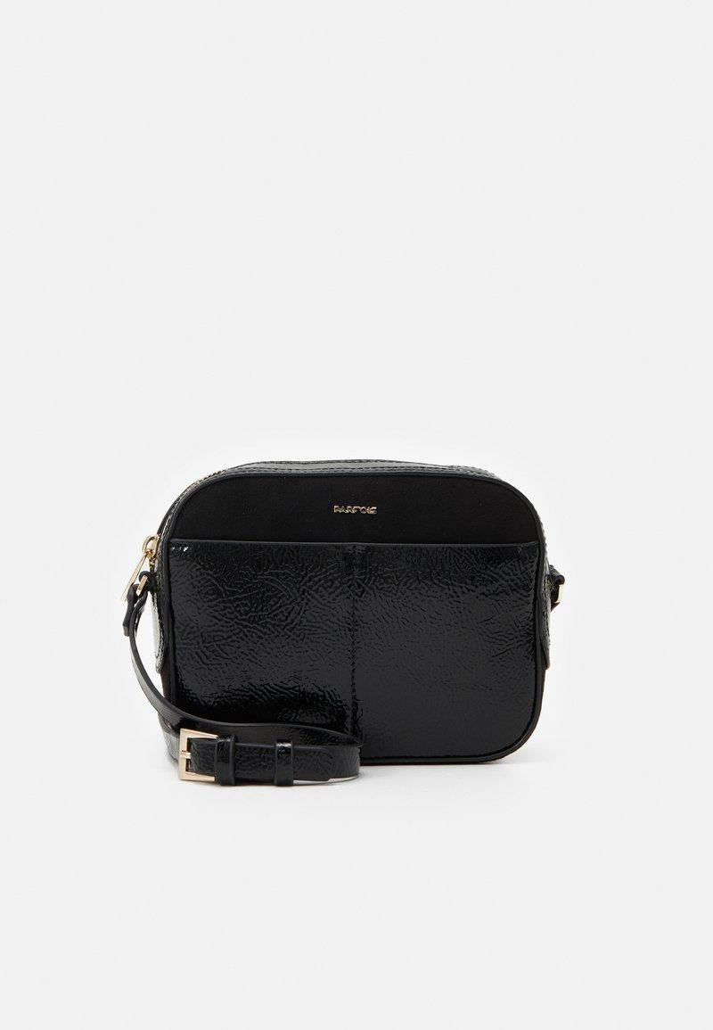 PARFOIS - CROSSBODY BAG MYSTERY - Across body bag - black