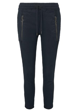 HOSEN & CHINO LOCKERE HOSE MIT ELASTISCHEM BUND - Trousers - sky captain blue
