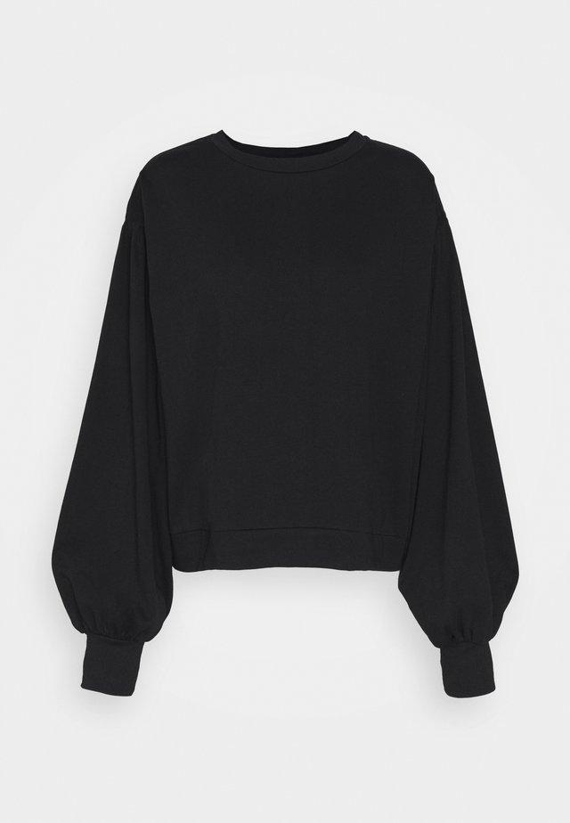 NMELLA DETAIL - Sweatshirt - black