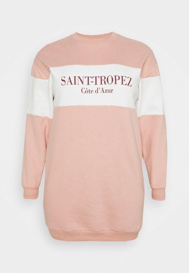 COLOUR BLOCK TROPEZ DRESS - Robe d'été - pink