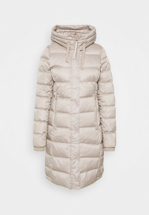 Down coat - light beige