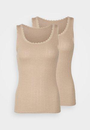 2 PACK - Camiseta interior - rose quartz