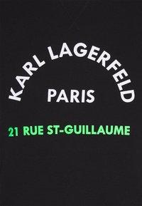 KARL LAGERFELD - CREWNECK - Collegepaita - black - 6