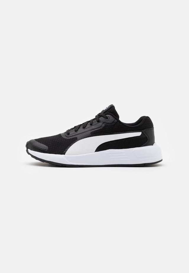 TAPER UNISEX - Obuwie do biegania treningowe - black/white