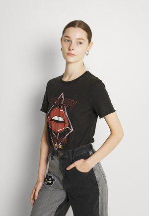 ONLLUCY - Print T-shirt - black