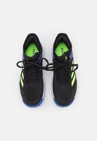 adidas Performance - UBERSONIC 4 UNISEX - Buty tenisowe uniwersalne - core black/signal green/sonic ink - 3