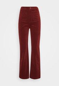 King Louie - GARBO POCKET PANTS CORDUROY - Trousers - sandelwood brown - 0