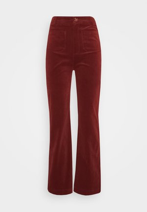 GARBO POCKET PANTS CORDUROY - Trousers - sandelwood brown