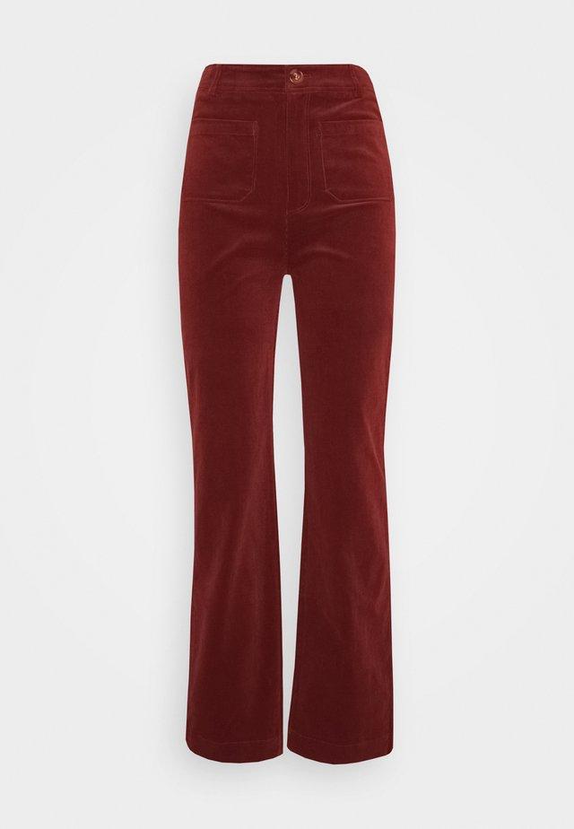 GARBO POCKET PANTS CORDUROY - Pantalones - sandelwood brown