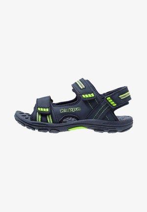 SYMI - Chodecké sandály - navy/green