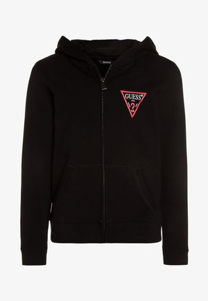 CORE  - veste en sweat zippée - jet black