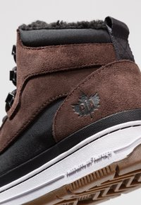 Park Authority - Sneakers hoog - dark brown/black - 5