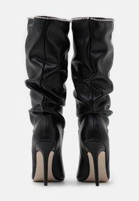 BEBO - SHORE - Boots med høye hæler - black - 3