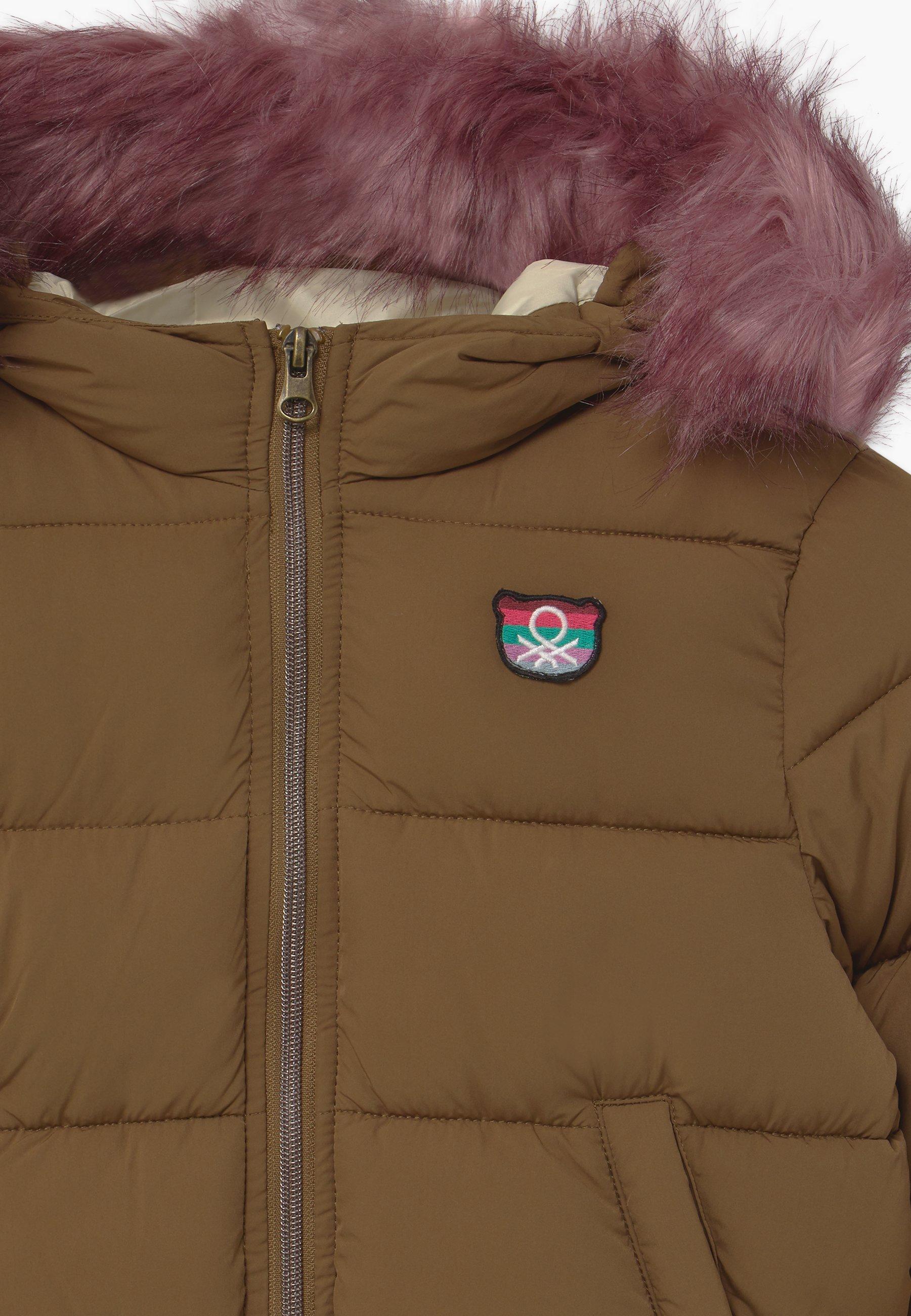 Benetton FOREST FRIENDS Vinterjakke brownbrun Zalando.no
