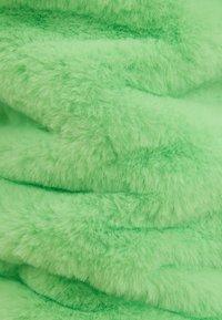 Bershka - MIT KAPUZE - Fleece jacket - green - 5