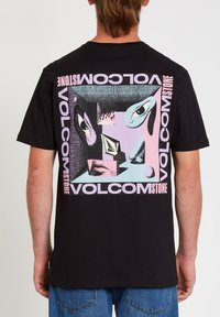 Volcom - M. LOEFFLER 2 FA SS - Print T-shirt - black - 1