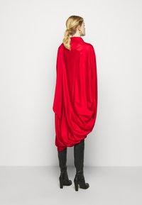 MM6 Maison Margiela - Jersey dress - red - 2