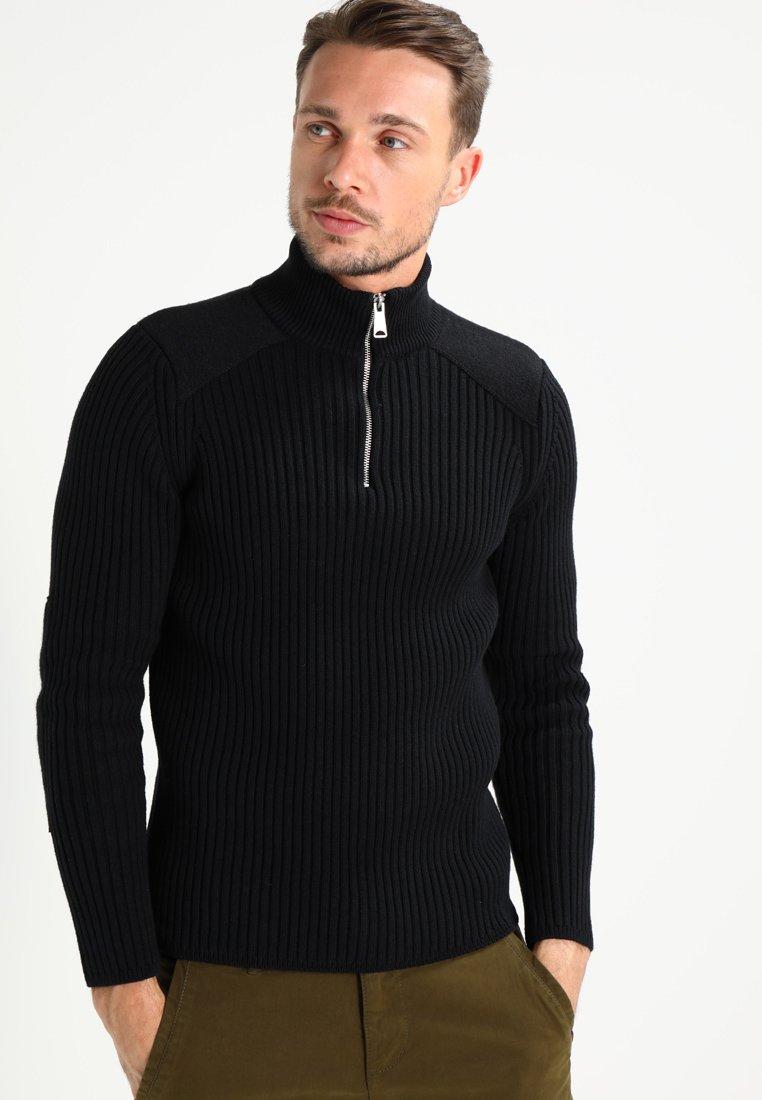 Schott - YANK - Sweter - black