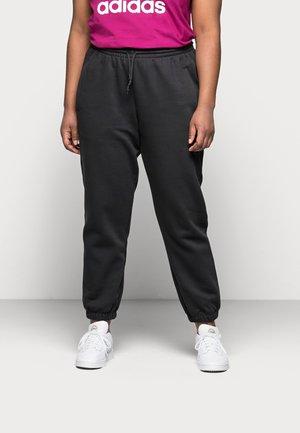 CUFFED PANT - Teplákové kalhoty - black